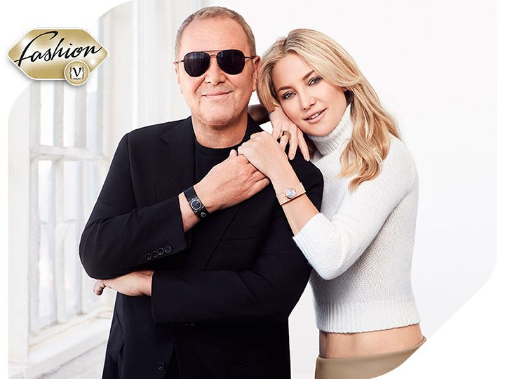 Michael Kors & Kate Hudson join forces