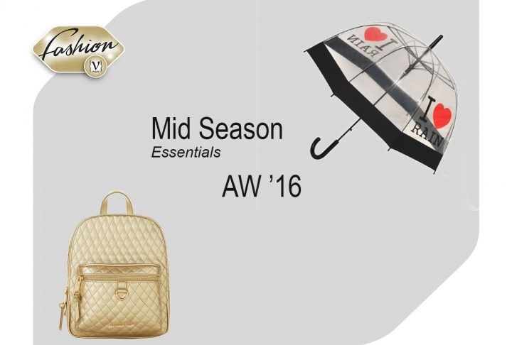 Mid Season Essentials AW '16