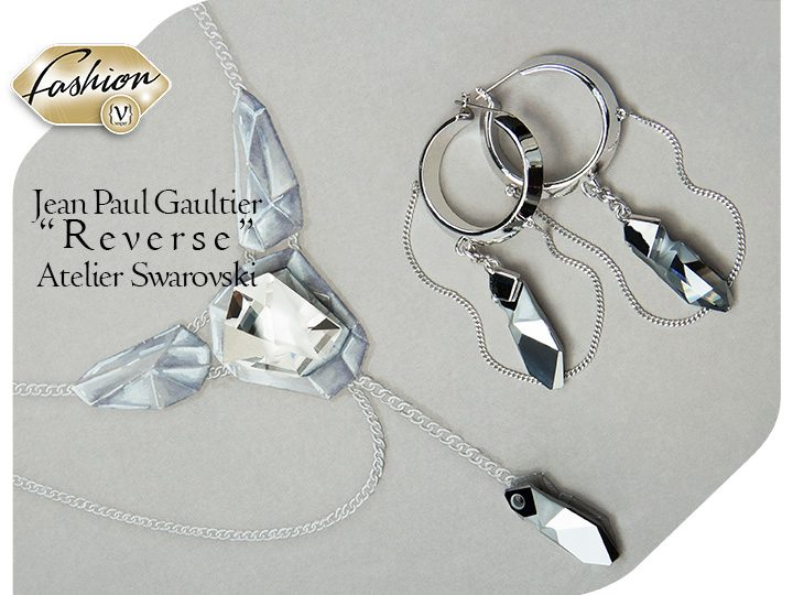 Jean Paul Gaultier designs for Swarovski