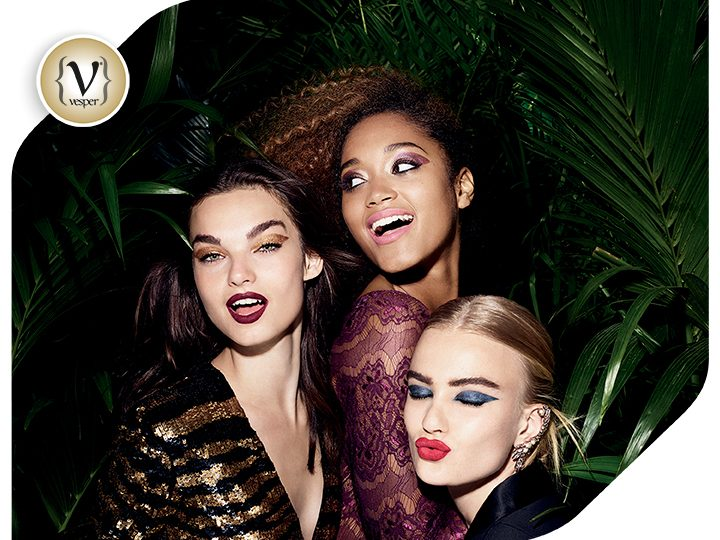 3 Makeup Looks to go wild with The Body Shop this Christmas