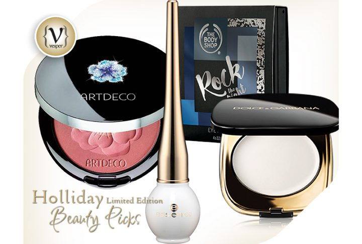 Holliday Makeup limited editions you shouldn't miss