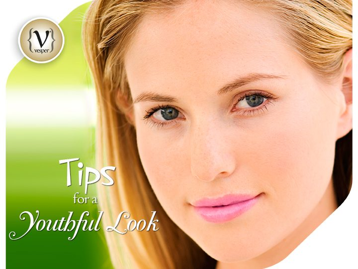 Tips for a youthful makeup