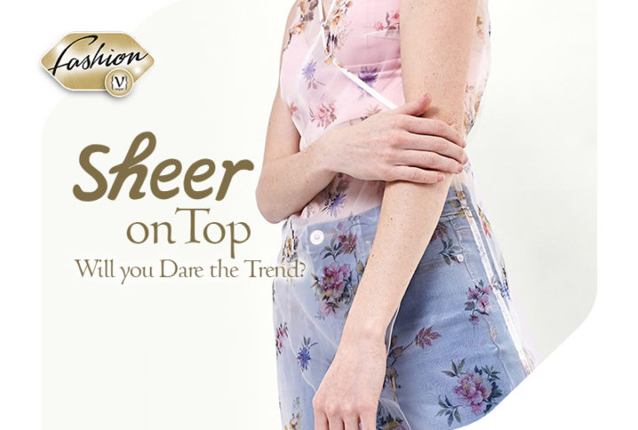 Sheer Dress on top - will you dare to wear the new trend?