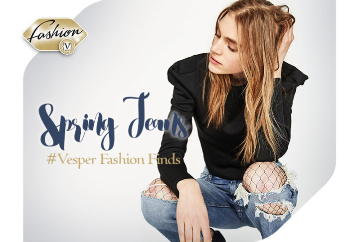 Find the perfect spring jean for your style