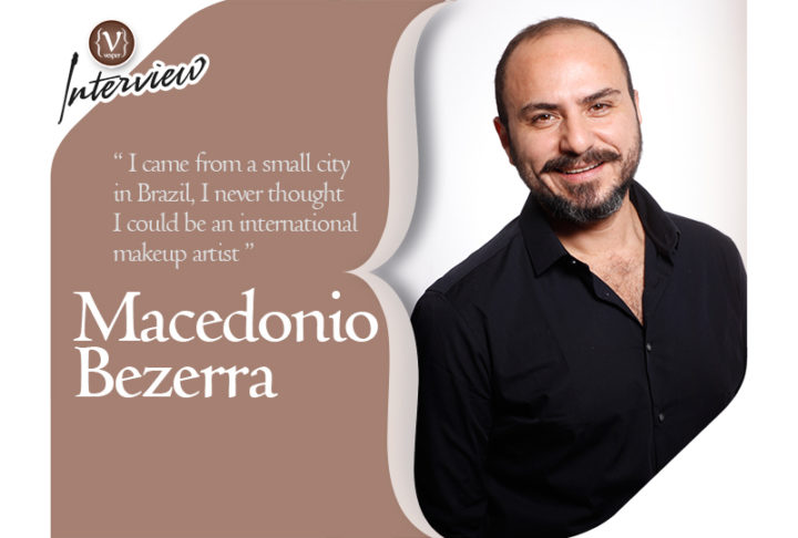 Macedonio Bezerra - ARTDECO official Makeup Artist