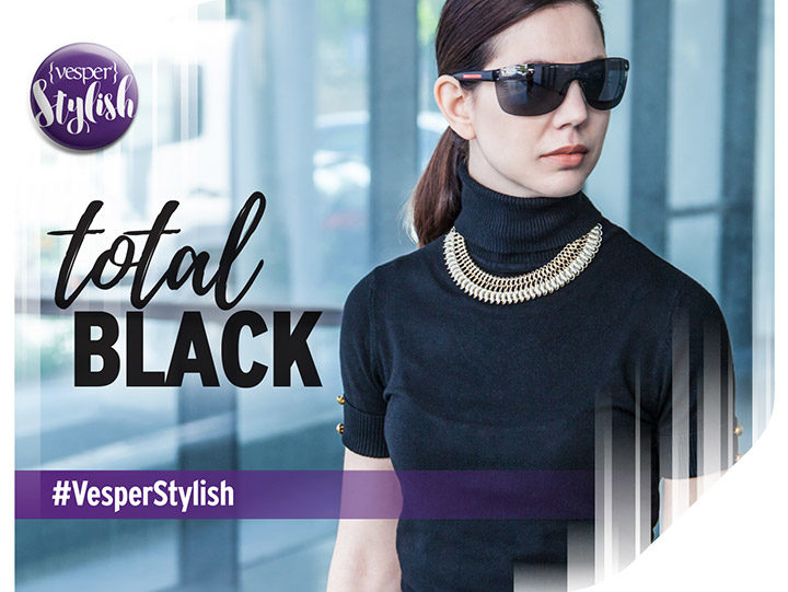 Vesper Stylish - Total Black