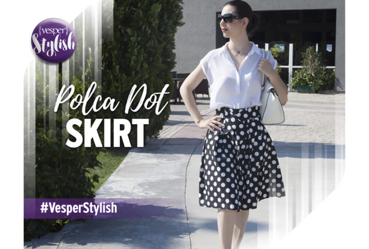 Vesper Stylish - Polca Dot Skirt