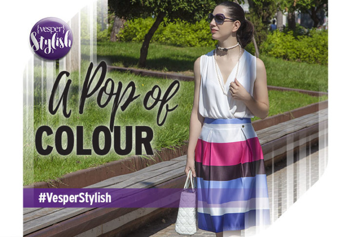 Vesper Stylish - A pop of colour