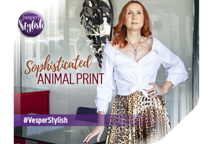 Vesper Stylish - Sophisticated Animal Print