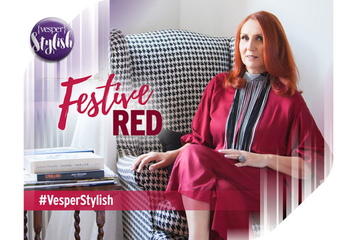 Vesper Stylish - Festive Red