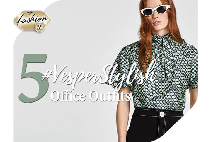 The #VesperStylish office outfits of next week