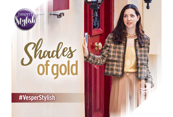 Vesper Stylish - Shades of Gold