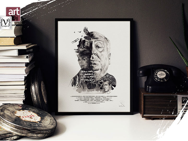 Famous Director's portraits by Julian Rentzsch