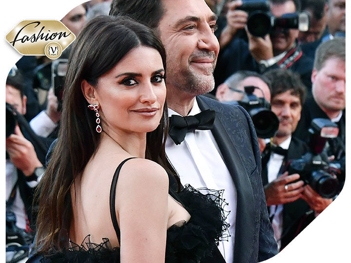 Glamourous appearance of Penélope Cruz in Swarovski in Cannes