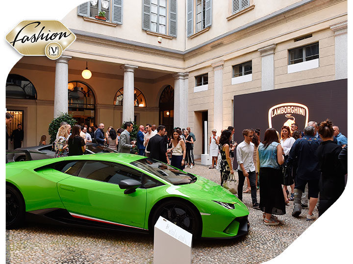 Collezione Automobili Lamborghini Presented the 2019 Spring Summer Collection