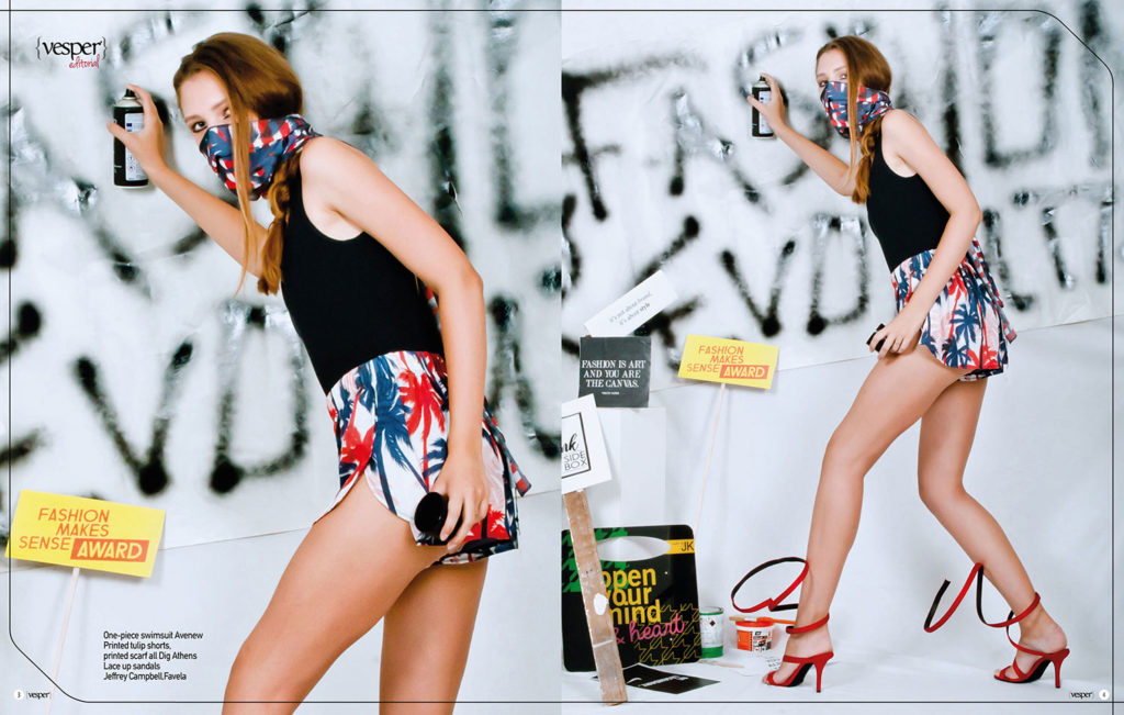 Fashion Revolution - editorial - Vesper Fashion & Art Magazine