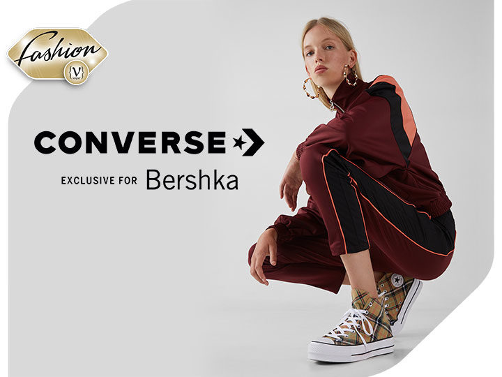 Converse exclusive for bershka!