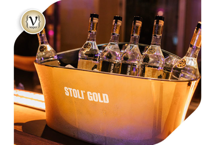 Η Stoli Gold χορηγός στο party Sex and the City Nights στο Ecali Club.