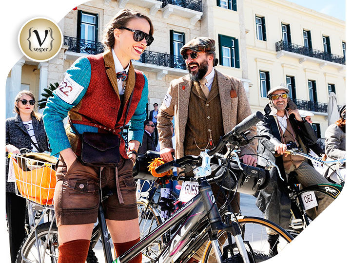 Spetses dresses up in its finest  to welcome the 5th Tweed Run