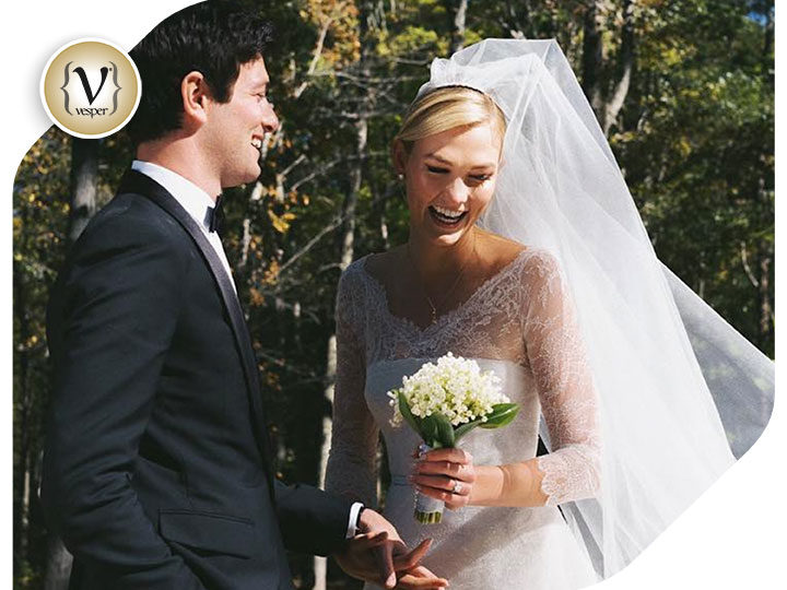 Karlie's Kloss secret wedding