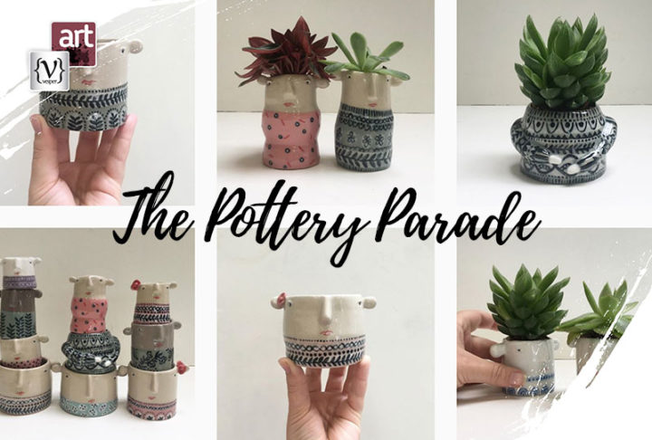 "Bring Joy to your everyday Life with a creation by ""the pottery parade"""