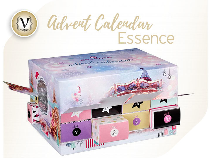 Essence Advent Calendar - a countdown to christmas full of surprises