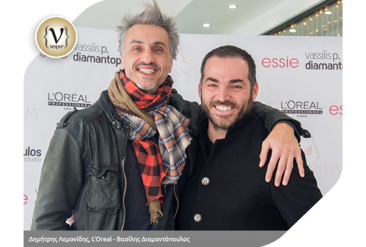 Vassilis P. Diamantopoulos Hairstudio & Ananda Nail Spa Party