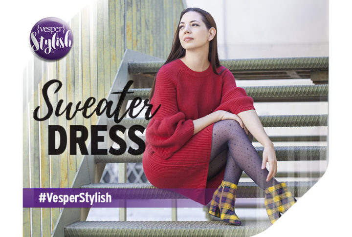 Vesper Stylish - Sweater Dress