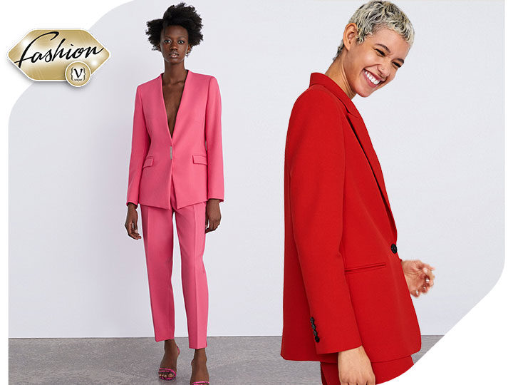 Colourful suits: the most playful trend of this season
