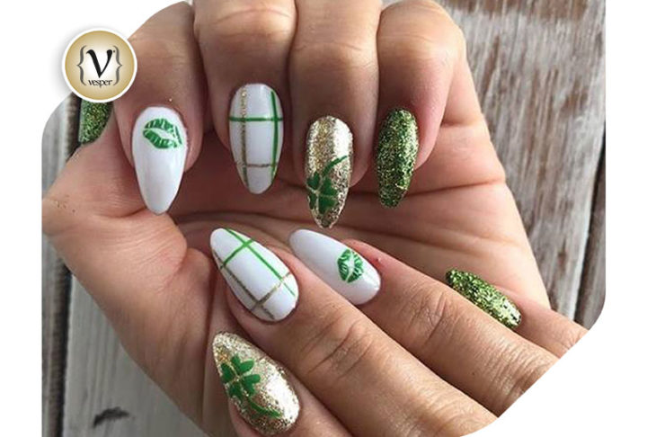 8 nailart ideas inspired from St Patrick's Day