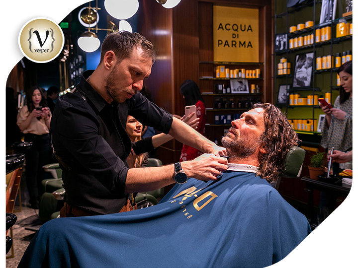 Η Acqua di Parma στο Don Barber & Groom