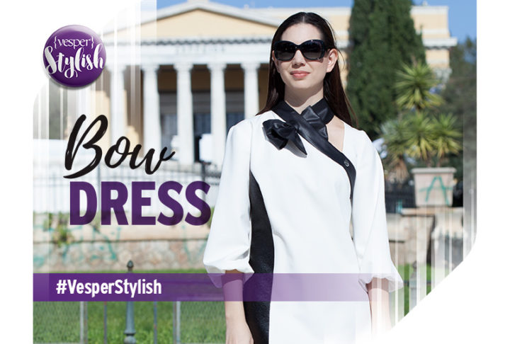 Vesper Stylish - Bow Dress