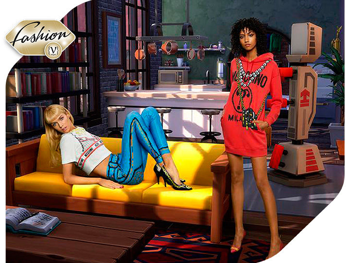 A video game becomes the new inspiration of Moschino