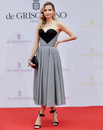 Stunning Looks at Cannes Film Festival with Ulyana's Sergeenko creations