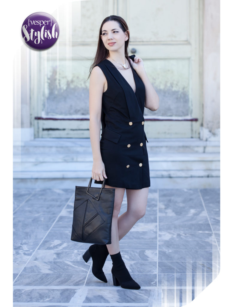 Vesper Stylish outfit - Over the Shoulders Look - Terry Paganopoulou