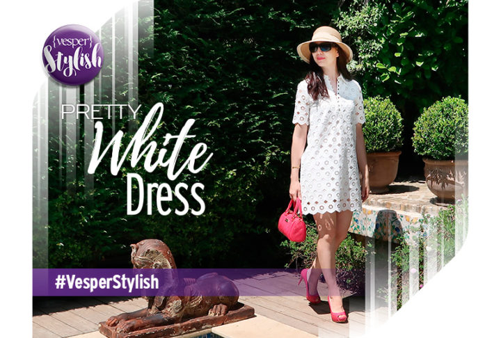 Vesper Stylish - Pretty White Dress