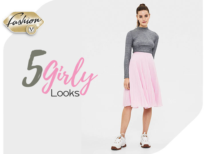 5 Fall girly looks!