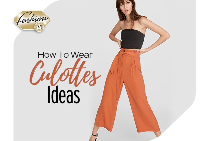 How to wear flowing culottes ideas!