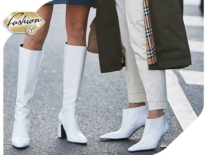 Latest Trend: White Boots