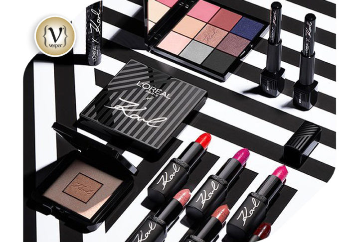 L'Oréal launches new beauty line designed by Karl Lagerfeld