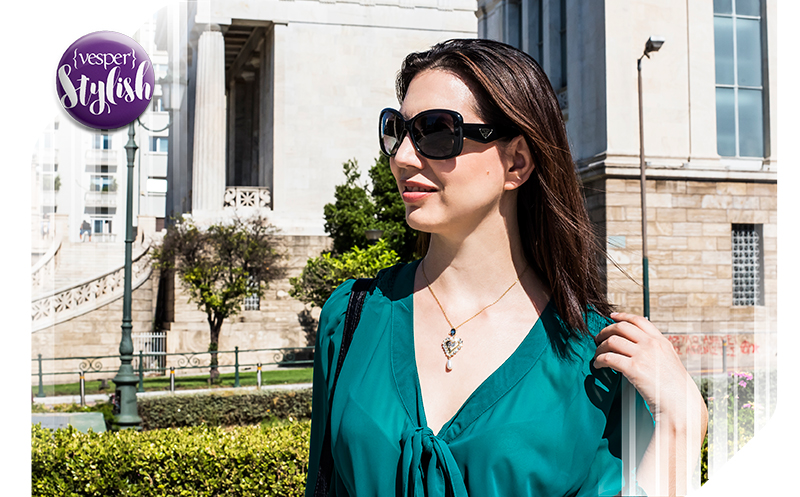 Vesper Stylish - Emerald Finesse Outfit - Terry Παγανοπούλου