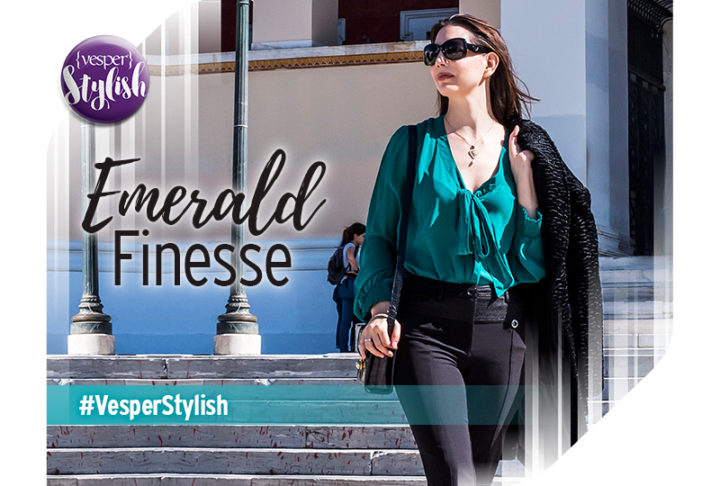 Vesper Stylish - Emerald Finesse