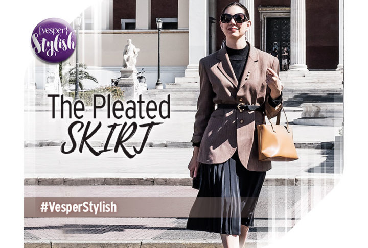 Vesper Stylish - The Pleated Skirt