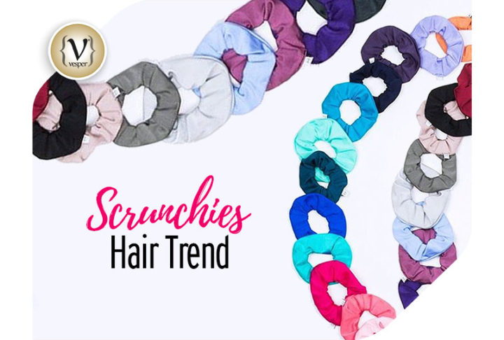 Scrunchies: The best latest hair trend