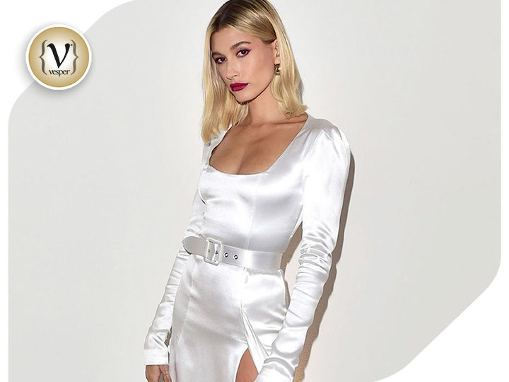 The stunning appearance of Hailey Bieber