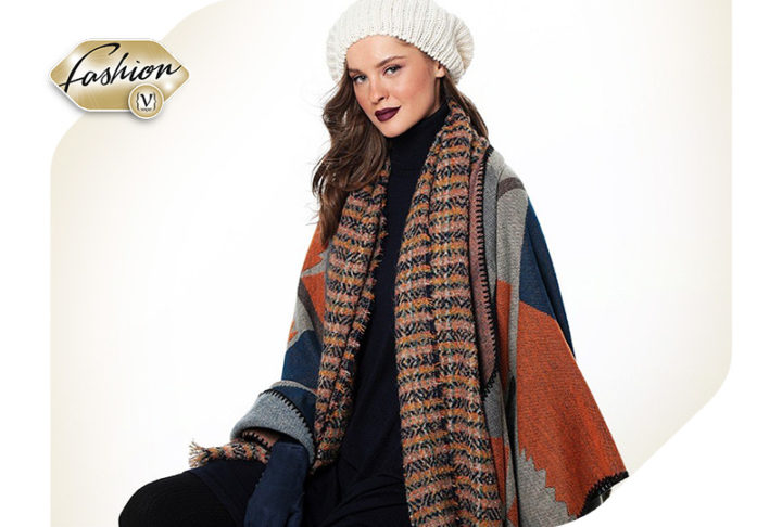How to wear the blanket scarf!
