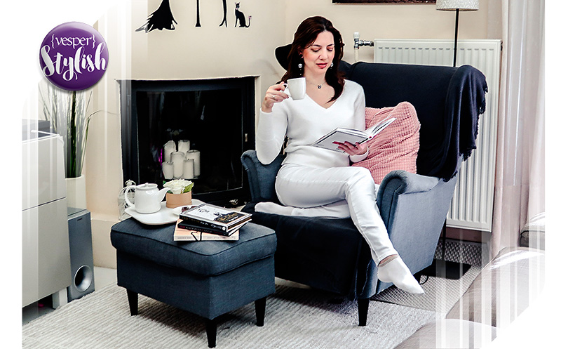 Vesper Stylish - Total White at Home - outfit ideas - στυλιστικές προτάσεις - look of the day
