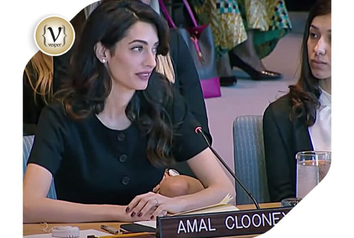 Rumors for problems at Amal and George Clooney's wedding