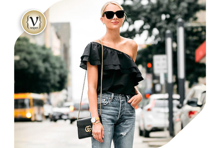 Trend:One Shoulder Top
