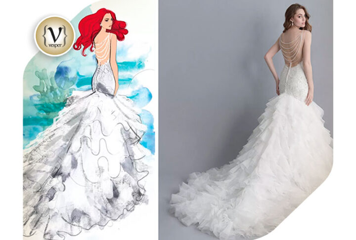 Disney presents wedding dresses inspired by its princesses in collaboration with Allure Bridal